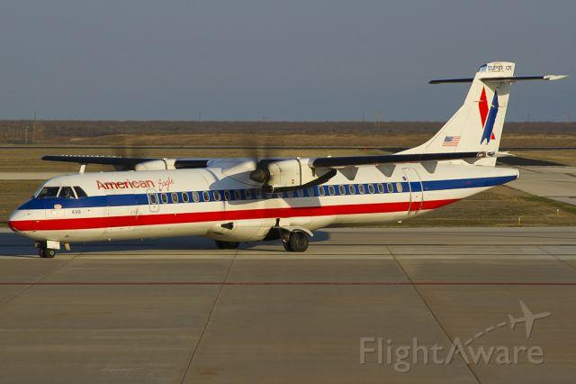ATR ATR-72 (N499AT) - Jan. 30, 2012.