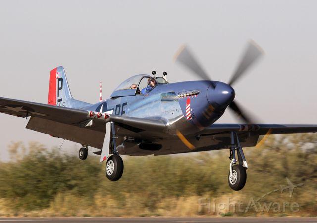 North American P-51 Mustang (N151BW) - Coolidge, AZ