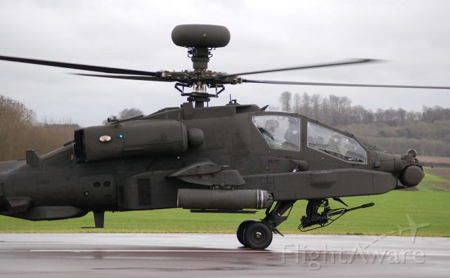 ZJ206 — - Westland Apache AH1 at Middle Wallop, British Army Air Corps