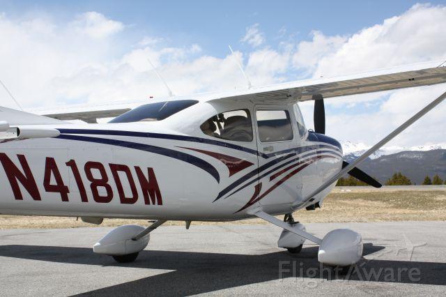 Cessna Skylane (N418DM) - Cessna 182T - May 2016 TAEFC Mountain Clinic. Location: KLXV Elev. 9,933 MSL.