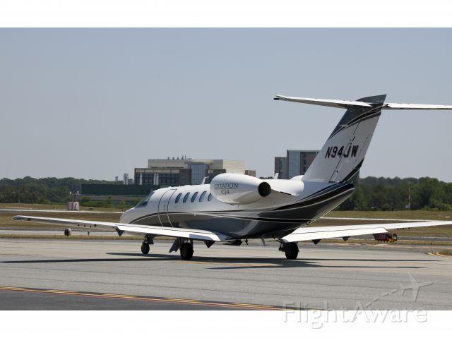 Cessna Citation CJ4 (N94JW) - The new CJ4!