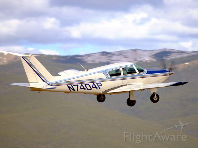 Piper PA-24 Comanche (N7404P) - Piper PA-24 Comanche bathed in the morning light.