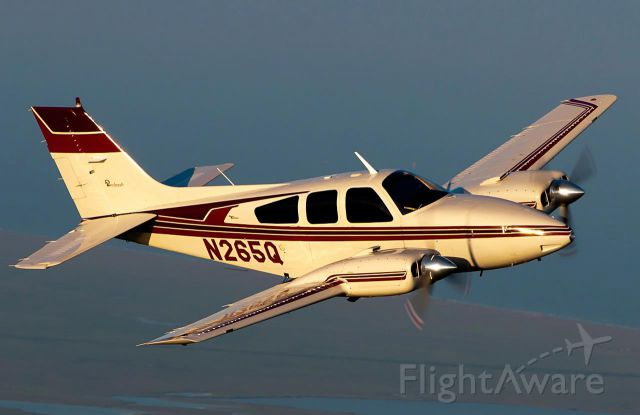 Beechcraft 55 Baron (N265Q) - Photo by Blair McFarlain