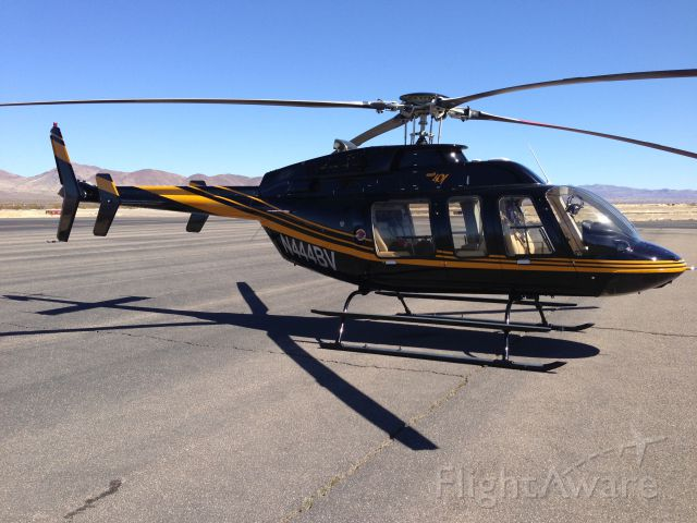 Bell 407 (N444BV) - On the way from SC to LasVegas.