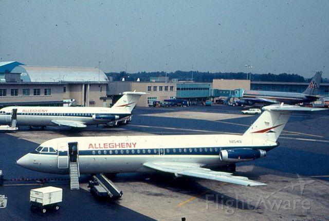 British Aerospace BAC-111 One-Eleven (N1549) - British Aerospace BAC-111 One-Eleven (N1549) at KBWI