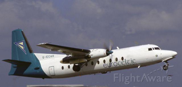 FAIRCHILD HILLER FH-227 (G-ECAH)