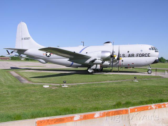 — — - STATIC AIRCRAFT AT WHITEMAN AFB