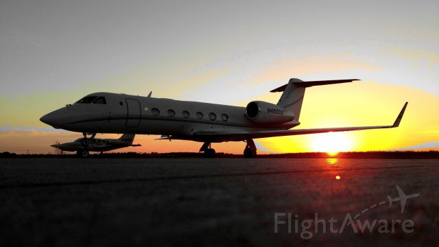 Gulfstream Aerospace Gulfstream IV (N4500X) - Taken with iPhone5 at HenriksenJetCenter