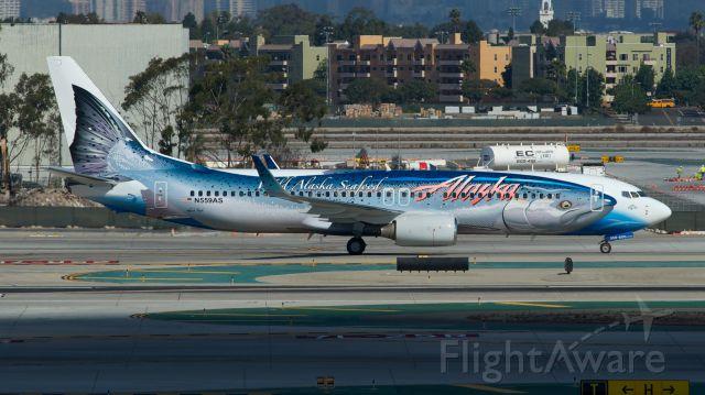 Boeing 737-800 (N508AS)