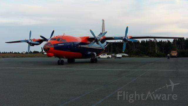 Antonov An-12 (UR-CNN) - Antonov 12-B  Cavok Air