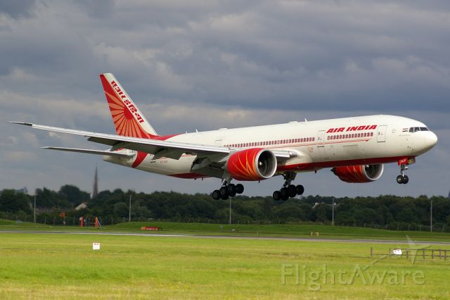 VT-ALH — - First ever Air India flight to Glasgow