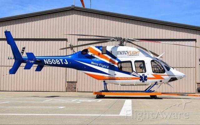 Bell 429 GlobalRanger (N508TJ) - Mercy Flight of Western NY <br />2017 Bell 429 GlobalRanger