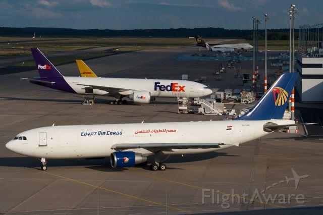 Airbus A300F4-200 (SU-GAS) - SU-GAS EgyptAir Cargo Airbus A300B4-622R(F)CGN