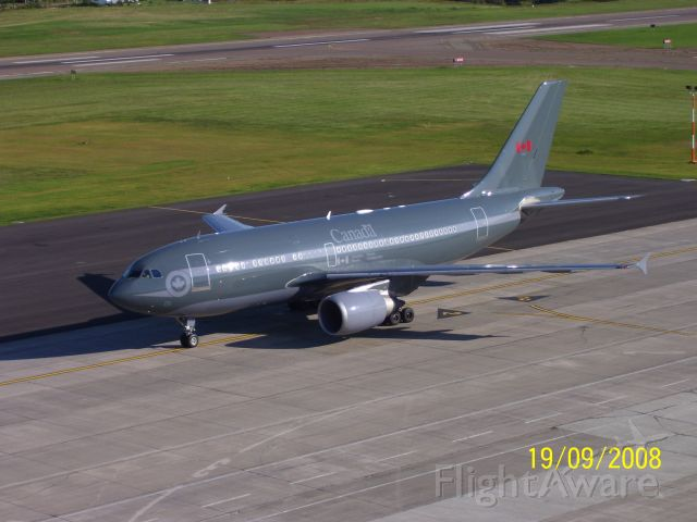 Airbus A310 — - Canadian Forces Airbus 310 tail # 15001