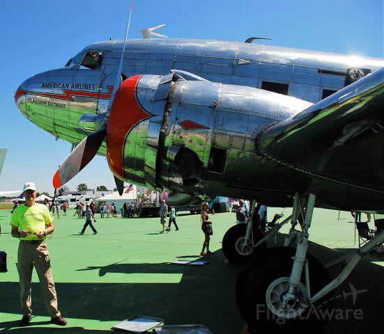 Douglas DC-3 (NC17334) - Dayton air show June 2016
