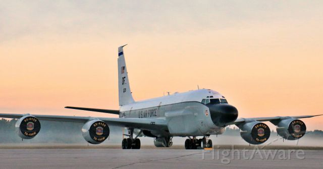 Boeing 707-100 — - TC-135W Rivet Joint at Airshow London 2016