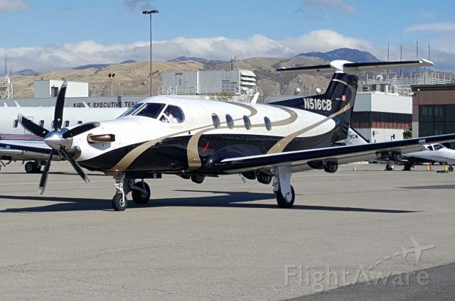 Pilatus PC-12 (N516CB)
