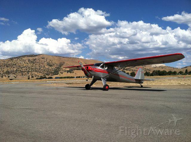 Piper Cherokee (N22013) - Luscombe 22013