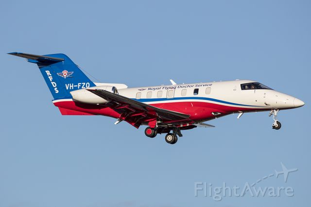 Pilatus PC-24 (VH-FZQ) - A beautiful aircraft in beautiful afternoon Winter light on it's delivery ferry flight from Stans, Switzerland to Adelaide, Australia.