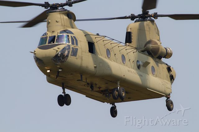 ASAP Chinook (0808752) - A Boeing CH-47F Chinook trains at Fort Indiantown Gap, Pennsylvania