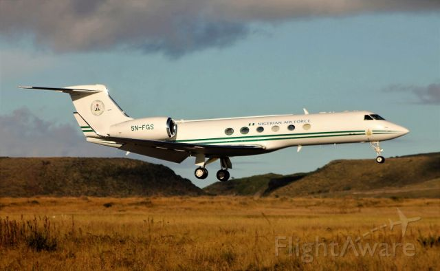 Gulfstream Aerospace Gulfstream V (5N-FGS) - Aeroporto de Santa Maria - LPAZ - Azores 08/10/2020
