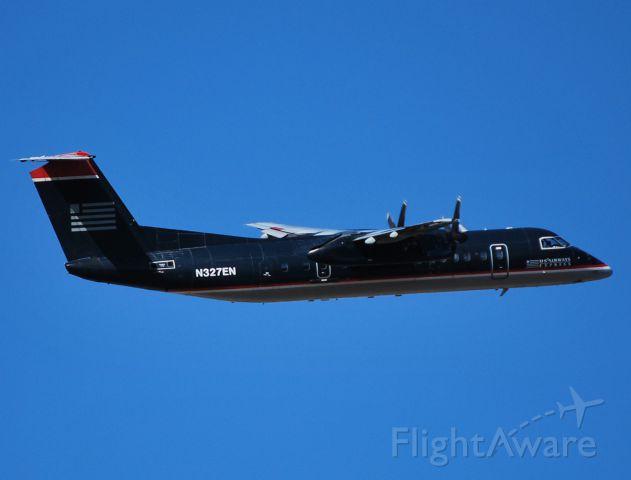 De Havilland Fox Moth (N327EN) - Departing 36R - 11/6/10
