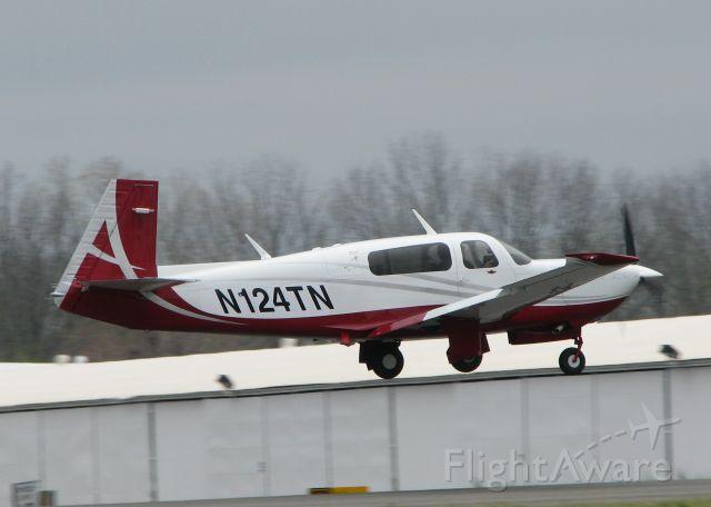 Mooney M-20 Turbo (N124TN) - At Downtown Shreveport.