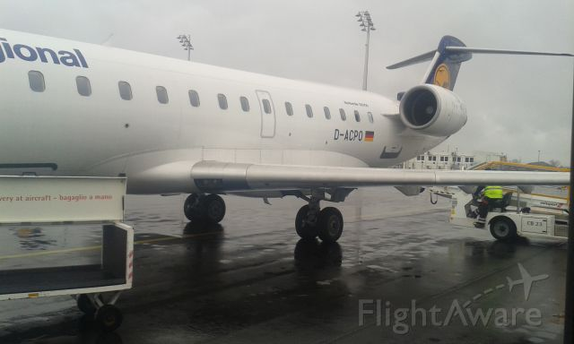Canadair Regional Jet CRJ-200 (D-ACPO) - Waiting for flight back home.