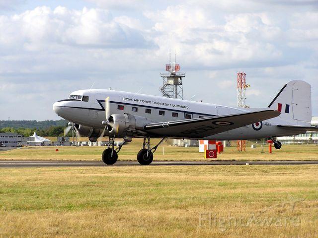 Douglas DC-3 (G-AMPY) - Douglas DC3 Dakota, G-AMPY; as KK116 Royal Air Force Command, EGLF, Farnborough Airshow 2006