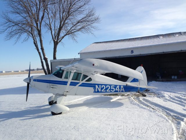 Piper PA-20 Pacer (N2254A) - In front of my hanger