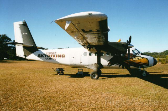 De Havilland Canada Twin Otter (VH-OTA) - Dehavilland dhc-6-100 twin otter at tyagarah( byron bay)