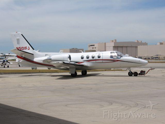 Cessna Citation 1SP (N501FJ) - Parked at Long Beach