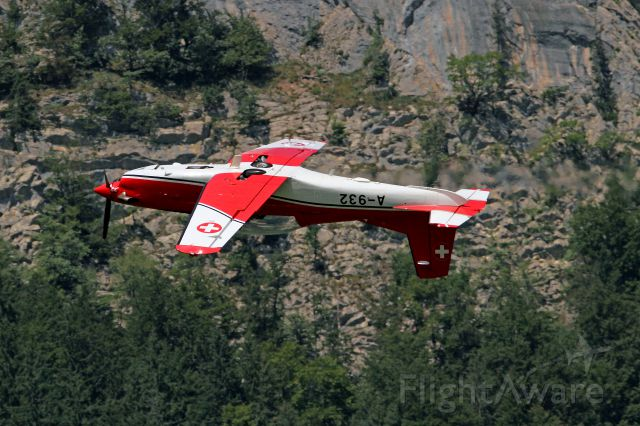 Pilatus PC-7 Astra (A932) - Demo during Jet World Masters 2013