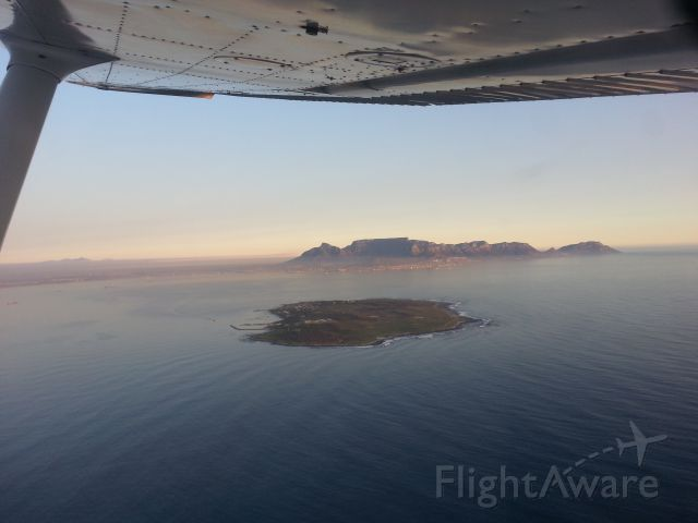 Cessna 152 (ZS-DPS) - ZA-0107Robben Island Airstrip33°48′01″S 018°21′49″E  (en route from FAFK) - this airstrip was in use at the time of Nelson Mandela