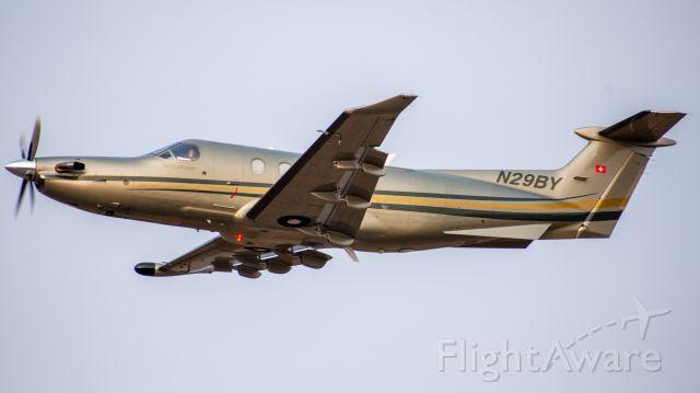 Pilatus PC-12 (N29BY) - XSN29
