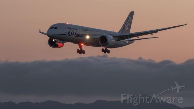 Boeing 787-8 (JA816A) - 787-8 Dreamlinerbr /Boeing 787-881br /August.30.2015 Hakodate Airport [HKD/RJCH] JAPAN