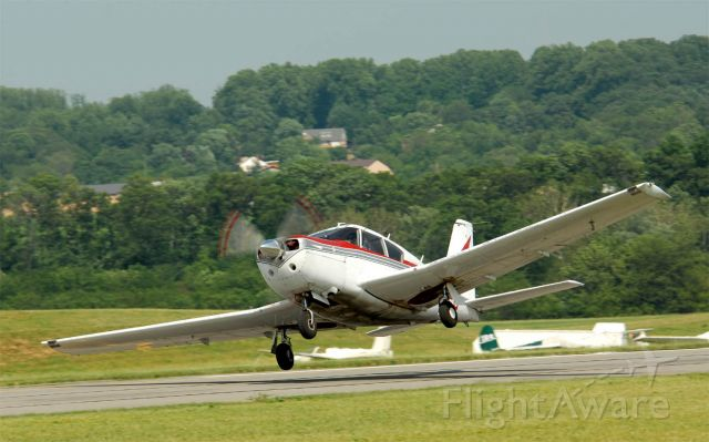 Piper PA-24 Comanche (N8515P) - Near disaster on take off.