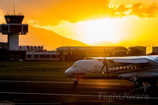 ATR ATR-72 (F-ORVT) - Livraison du nouvel ATR 72 dAir Tahiti : 30/05/2017