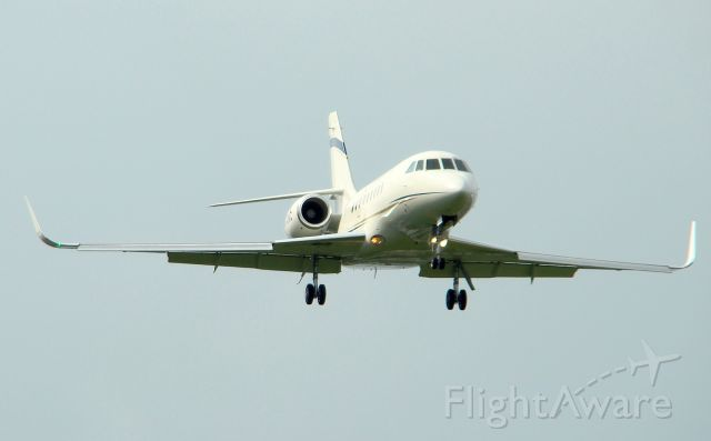 Dassault Falcon 2000 (FWK772) - Saw this one coming on FA, those winglets are too cool!