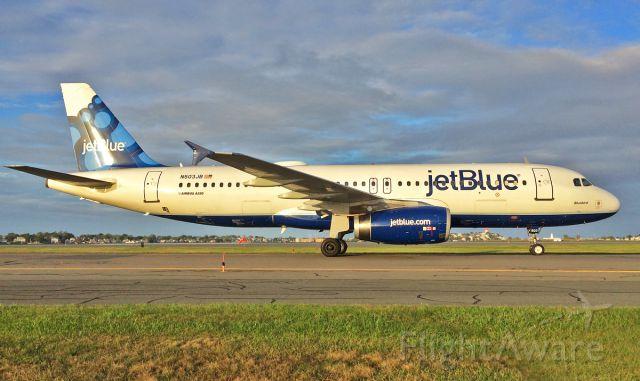 "Airbus A320 (N503JB) - ""Bluebird"""