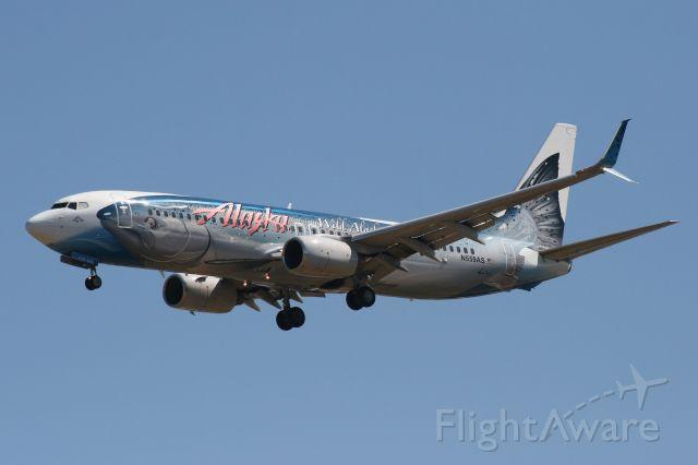 Boeing 737-700 (N559AS) - Salmon Thirty Salmon