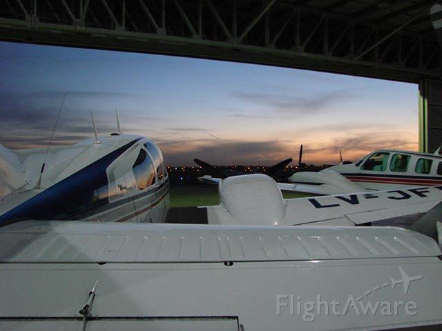 LV-JFP — - En el Hangar de Aerobaires en SADF