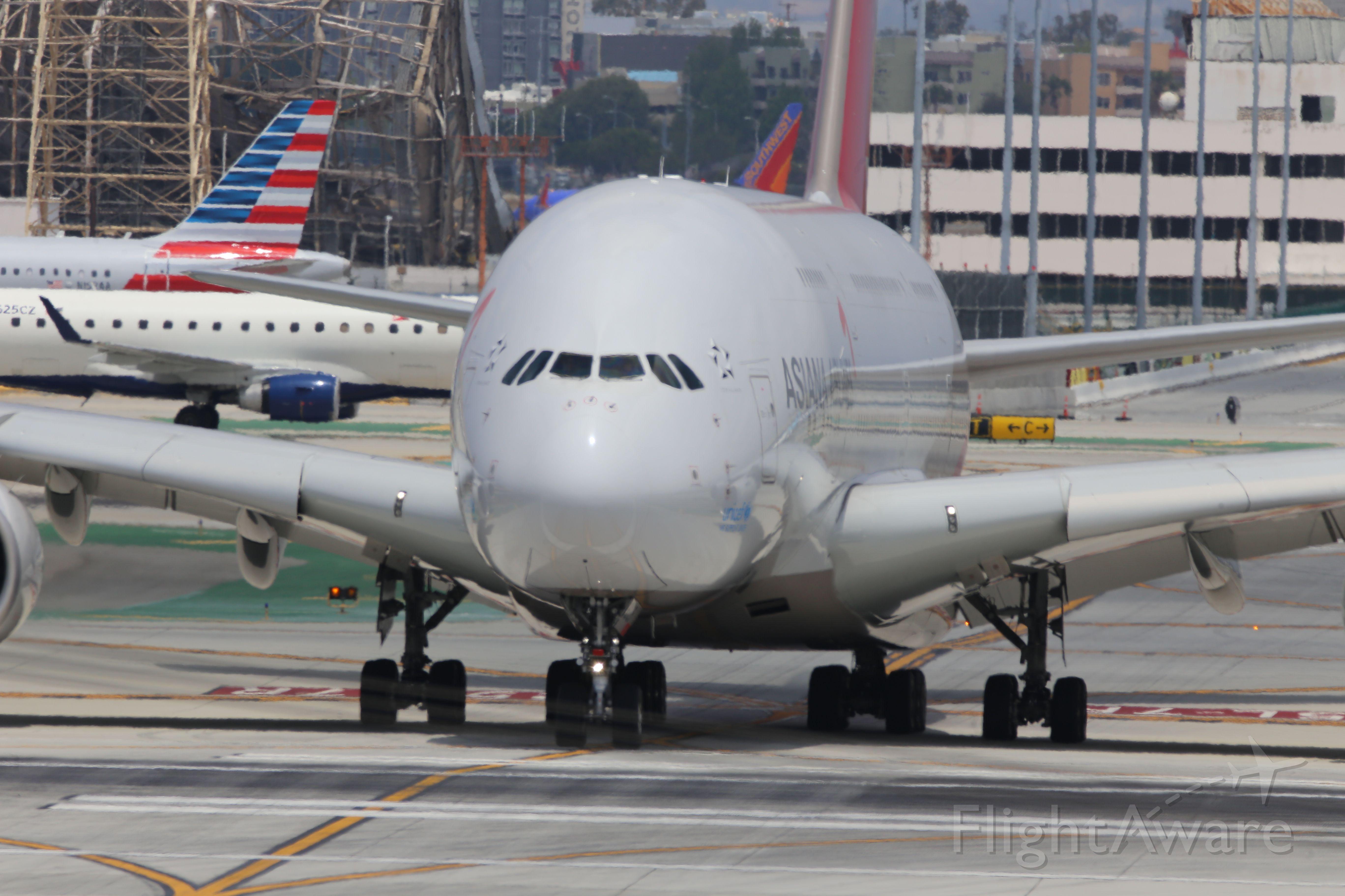 Airbus A380-800 (HL7635)