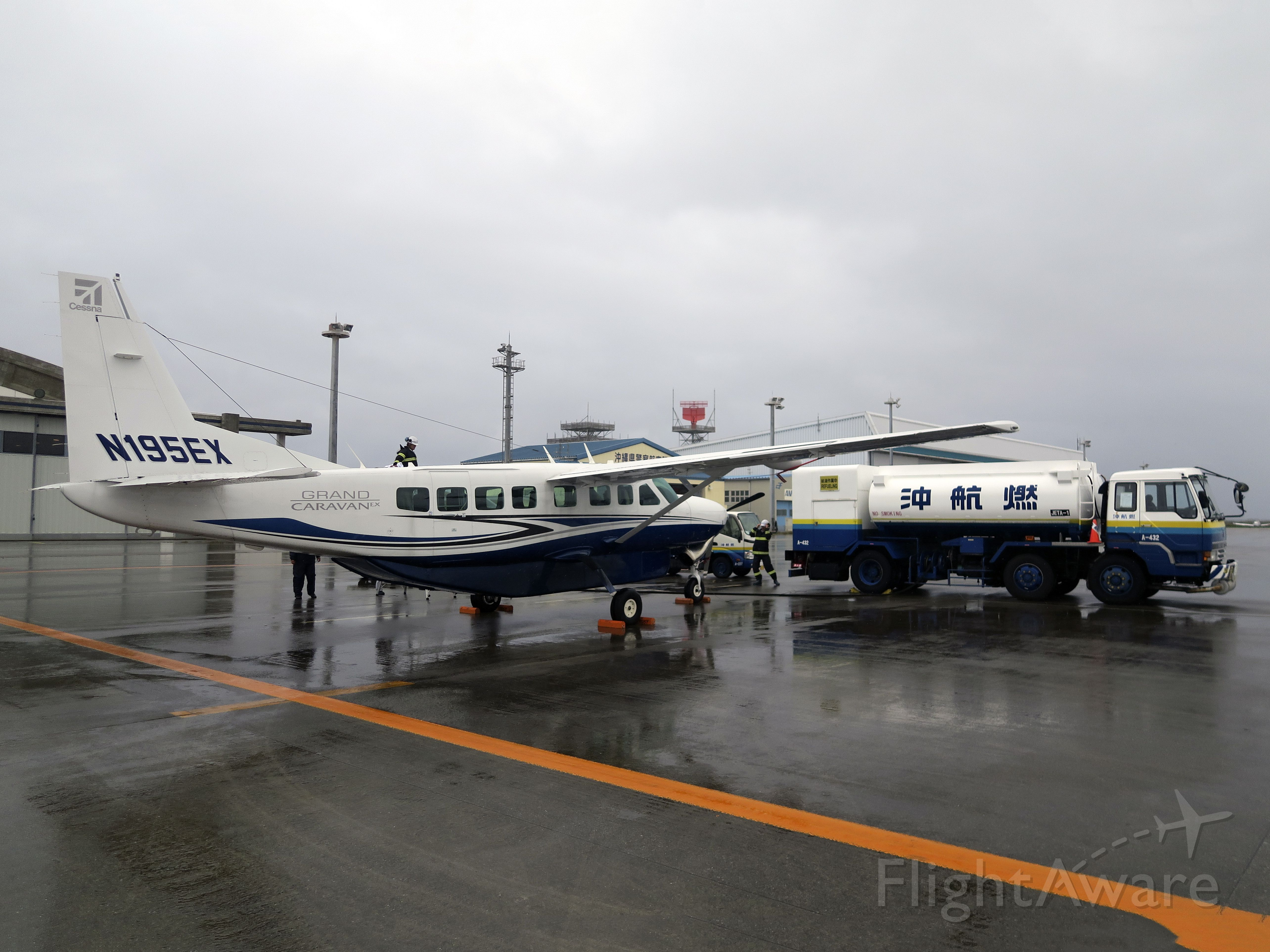 Cessna Caravan (N195EX) - On a ferry flight from Singapore to the USA.
