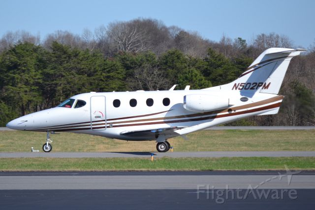 Beechcraft Premier 1 (N502PM) - QUALITY OPERATIONS LLC at KJQF - 2/27/18