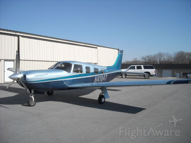 Piper Saratoga/Lance (N41847) - 2000 Piper Saratoga II TC