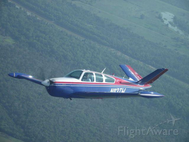 Beechcraft 35 Bonanza (N113TW) - Formation Flying with Foxtrot Bravo