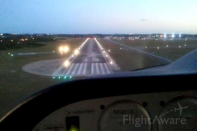 N508TE — - Landing LNA RNWY 15