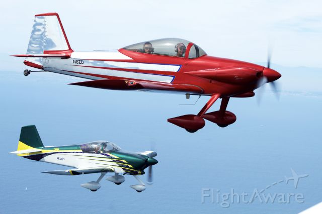 Vans RV-4 (N8ZD) - Lunch rush into Catalina