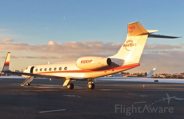Gulfstream Aerospace Gulfstream IV (N126HR) - 3rd upload ever of N126HR Seminole Hard Rock